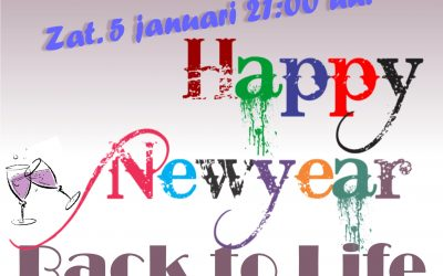 5 jan Back to Life Nieuwjaarsborrel