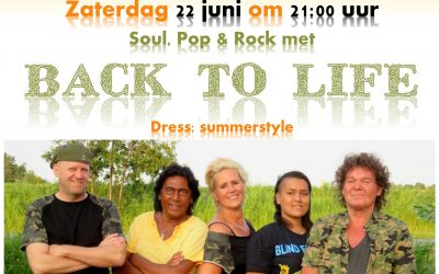 Midzomerfeest met Back to Life