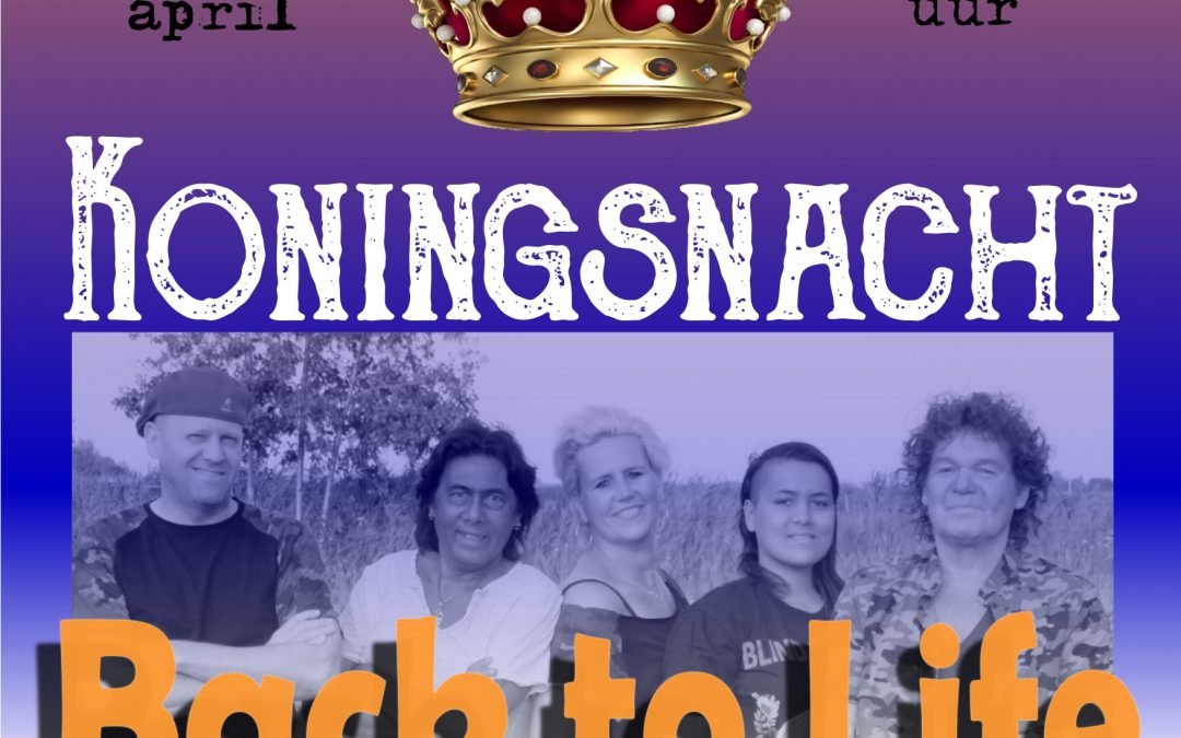 "26 april BTL ""Koningsnacht"""